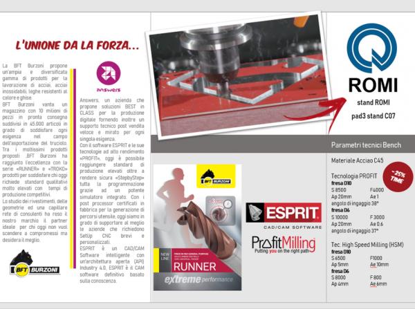 Flyer Profit PARTNER BFT & Romi Italia